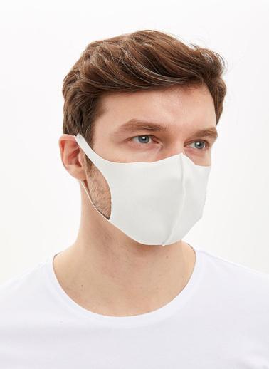 DeFacto Yıkanabilir Maske Beyaz